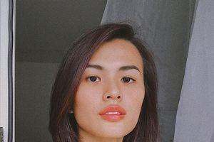 Người mẫu Cao Thiên Trang gây tranh cãi khi khuyên uống xịt khoáng