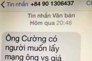 Chánh Văn phòng Đoàn Đại biểu Quốc hội tỉnh Quảng Trị bị nhắn tin đe dọa, đòi 100 triệu đồng