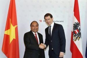 Thủ tướng Nguyễn Xuân Phúc hội đàm với Thủ tướng Áo Sebastian Kurz