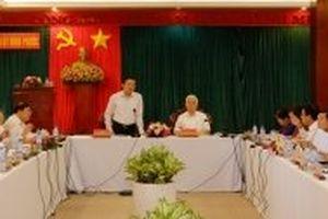 Ban Nội chính T.Ư làm việc với Tỉnh ủy Bình Phước