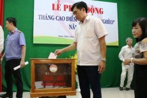 Hơn 6,4 tỷ đồng ủng hộ Quỹ 'Ngày vì người nghèo' tại Huế