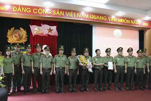 Công bố Quyết định thành lập Đảng bộ Cục Kế hoạch và Tài chính