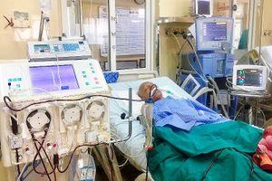 Lần đầu tiên u di căn phổi được cứu sống bằng thay huyết tương