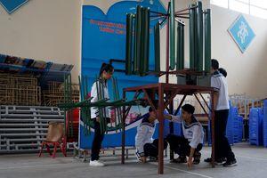 Học sinh lớp 9 sáng chế máy sục khí chạy bằng năng lượng gió