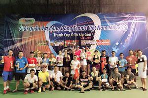 Hơn 450 tay vợt tham dự giải Tennis Cộng đồng Việt Nam