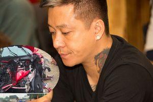 Cận cảnh siêu xe tiền tỉ gặp tai nạn của ca sĩ Tuấn Hưng