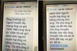 Chánh văn phòng đoàn Đại biểu Quốc hội bị nhắn tin 'khủng bố'