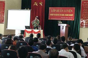 Người 'thắp lửa' phong trào toàn dân bảo vệ an ninh ở xứ Quảng