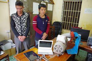 'Cặp đôi' nghiện ma túy liên tiếp gây ra hàng loạt vụ trộm
