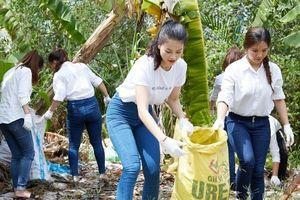 Miss Earth Vietnam 2018 kêu gọi bảo vệ Đồng bằng sông Cửu Long