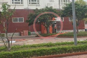 Khởi tố vụ cài 2kg thuốc nổ trong cây ATM ở Quảng Ninh