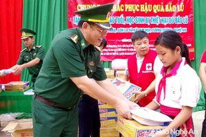 Hỗ trợ phụ nữ nghèo và học sinh ở Quỳnh Lưu, Tương Dương