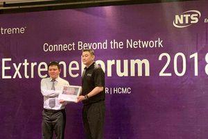 NTS ICT chính thức phân phối Extreme Networks tại Việt Nam