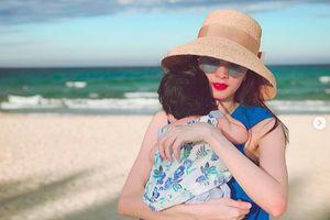 Hoa hậu Đặng Thu Thảo bức xúc vì bị lợi dụng hình ảnh cùng con gái quảng cáo gian dối
