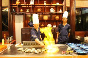 Vòng quanh các khách sạn, resort thưởng thức món ngon Nhật, Thái