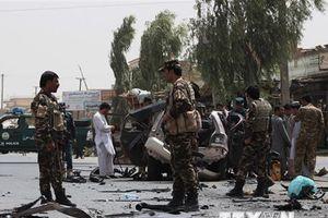 Đánh bom liên tiếp khắp Afghanistan, hàng chục người thương vong