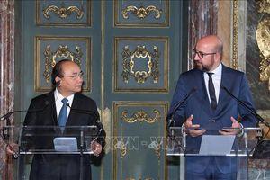 Việt Nam - Bỉ nhất trí thúc đẩy hợp tác trên nhiều lĩnh vực