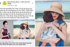 Đặng Thu Thảo tức giận vì bị lấy cắp hình ảnh, bịa bài phỏng vấn quảng cáo bán hàng online