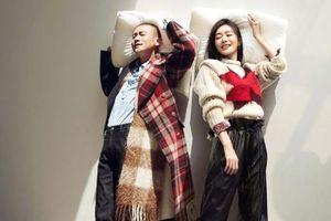 'Phú sát' Tần Lam và 'Hoàng thượng' Nhiếp Viễn tái ngộ ngoài đời trên tạp chí