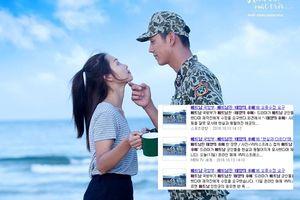 Lý do 'Hậu duệ mặt trời' bản Việt Nam xuất hiện ngập tràn trên SBS và loạt báo Hàn?
