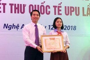Xúc động bức thư xuyên thời gian đoạt giải 3 cuộc thi Viết thư quốc tế UPU lần thứ 47