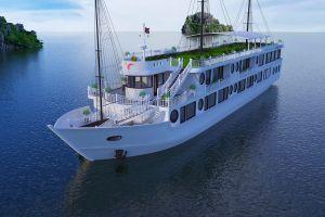 Oriental Sail ra mắt Calypso Cruises trên vịnh Lan Hạ