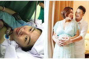 Lê Khánh hạnh phúc đón con đầu lòng - sao Việt đồng loạt gửi lời chúc mừng