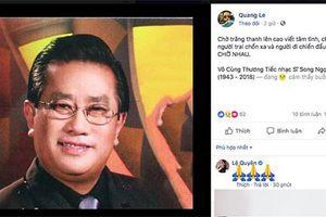 Nhạc sĩ 'Xin gọi nhau là cố nhân' qua đời vì bạo bệnh