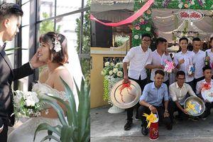 Cô dâu chú rể 'dở khóc, dở cười' vì quà cưới 'có 1-0-2' của hội bạn