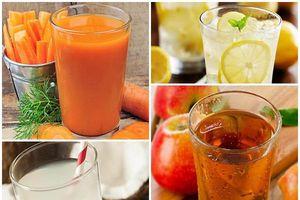 Nếu lười ăn hoa quả, mẹ bầu hãy nghĩ ngay đến những loại nước cực tốt này!