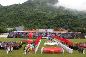 Hà Giang: Trên 350 VĐV tranh tài tại Đại hội TDTT toàn tỉnh lần thứ VIII