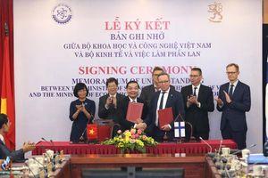 Việt Nam - Phần Lan đẩy mạnh hợp tác khoa học, công nghệ