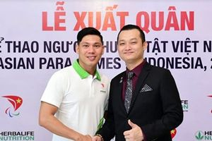 Herbalife và Hiệp hội Paralympic Việt Nam tài trợ cho 54 VĐV Việt Nam tham dự ASIAN Para games 2018