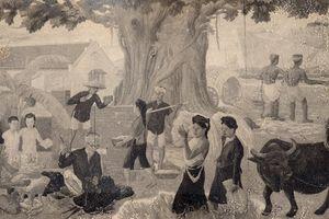 Ký tên chi chít lên tranh phơi bày những lỗ thủng về văn hóa