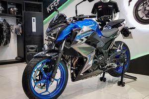 Triệu hồi Kawasaki Z300 ABS 2018 vì nguy cơ thủng bình xăng