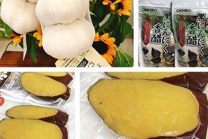 Tỏi Nhật, khoai Nhật giá 'chát' vẫn được nhiều người Việt lùng mua