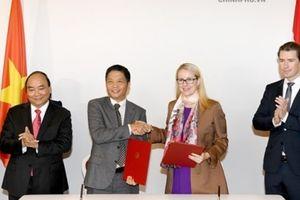 Việt Nam và Áo ký Bản ghi nhớ hợp tác Thương mại điện tử và công nghiệp 4.0