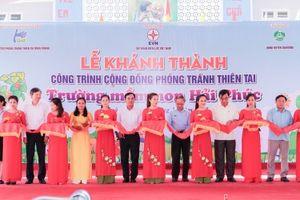 Quảng Trị: Khánh thành công trình phòng tránh thiên tai cho học sinh Tiểu học