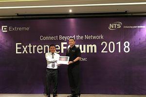 NTS chính thức là nhà phân phối của Extreme Networks tại Việt Nam