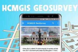 Dữ liệu GIS - hợp phần không thể thiếu để phát triển ứng dụng cho đô thị thông minh