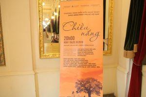 'Chiều nắng' - chương trình nghệ thuật đặc biệt dành tặng phái đẹp nhân ngày Phụ nữ Việt Nam