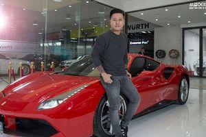 Siêu xe Ferrari 488 GTB vừa bị tông nát đầu của ca sĩ Tuấn Hưng khủng cỡ nào?