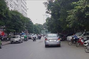 Người dân kêu trời vì bãi xe bủa vây chung cư