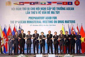 Khai mạc Hội nghị Quan chức cấp cao ASEAN về vấn đề ma túy lần thứ 6