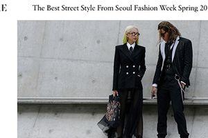 Phí Phương Anh, Hoàng Oanh xuất hiện trên Vogue Mỹ