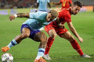 Bỉ duy trì thành tích 10 năm bất bại trước Hà Lan
