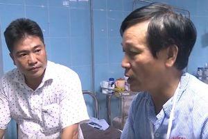 Lãnh đạo lâm trường bị đối tượng vi phạm dùng đá, hung khí đánh