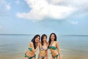 Ngắm thân hình siêu nóng bỏng của bộ ba mỹ nhân màn ảnh Việt