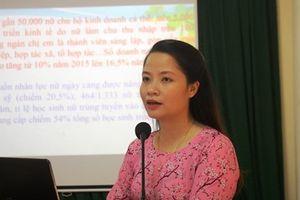 Tọa đàm nâng cao chất lượng Ban Nữ công công đoàn các cấp tại Hà Tĩnh