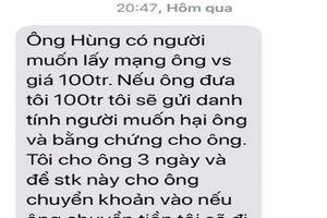 Sim nhắn tin tống tiền nguyên Chánh văn phòng Đại biểu Quốc hội Thừa Thiên-Huế từ TPHCM